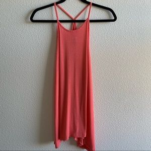 🌻 Coral Old Navy Swing tank